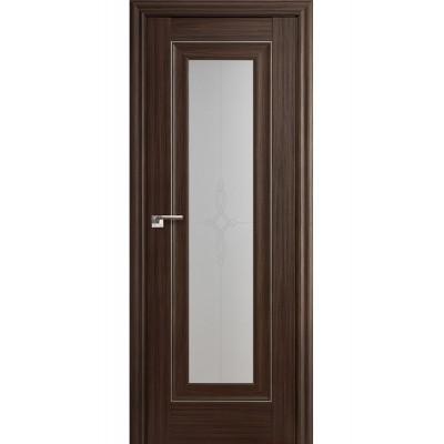 Дверь ProfilDoors Натвуд Натинга   24Х стекло Узор.