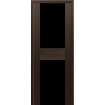 Дверь ProfilDoors Мелинга 10х Цвета: Венге,Капучино. Стекло: триплекс белый,триплекс черный.