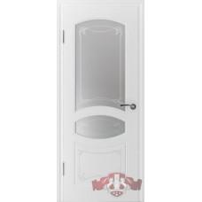 13ДР0 Белая эмаль. Остекленное полотно. Владимирская фабрика дверей. Различные  размеры