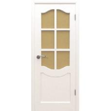2ДР0 Белая эмаль.Остекленное полотно.Владимирская фабрика дверей.Различные размеры