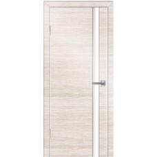 Двери Техно-2 ПВХ полотно остекленное, с алюминиевой кромкой