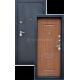 Входная дверь «Байкал» Город мастеров Три контура уплотнения