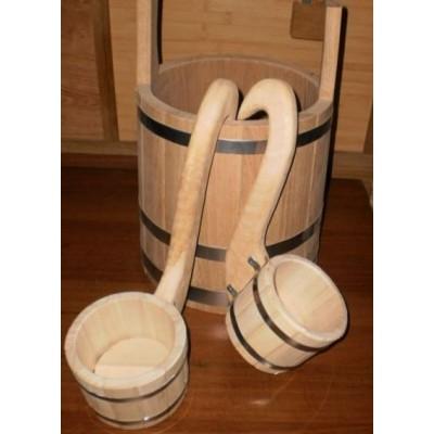 Ковш деревянный для бани