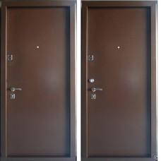 Дверь МЕГИ (Уфа)  ДС-584 ДЛЯ УЛИЦЫ. Металл с двух сторон.