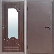 Дверь входная АМПИР. Венге, Белёный дуб