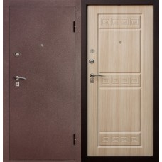 Дверь Цитадель Спарта (Бордовый Шелк) Тёмный венге, Белёный Дуб.МК