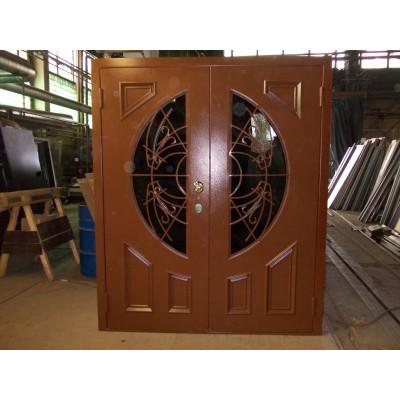 Дверь с полукругом