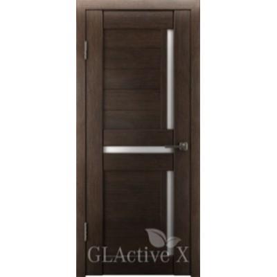 Дверь GreenLine.GLAtum X16.Капучино, Венге.Владимирская фабрика дверей.