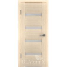 Дверь GreenLine.GLAtum X41.Капучино, Венге.Владимирская фабрика дверей.