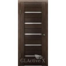 Дверь GreenLine.GLAtum X7.Капучино, Венге.Владимирская фабрика дверей.