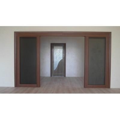 Раздвижные двери в проеме 4000мм