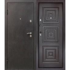 Дверь Цитадель БОРДО Беленый дуб  (шелк), Венге  (шелк) МК