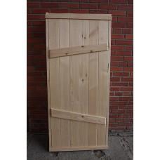 Двери для саун и бань деревянные
