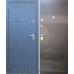 Дверь Цитадель Сочи (Синий Сатин) Белёный дуб \ Венге МК
