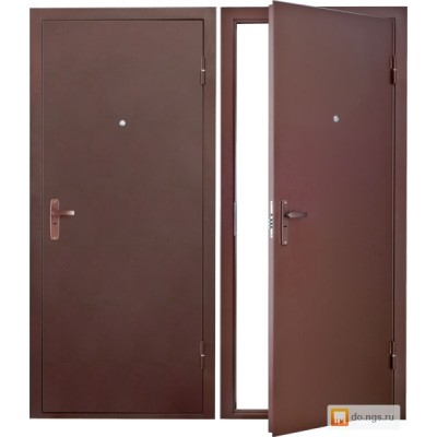 Дверь входная S-3 (super econom) Сибирь один или два замка ДЛЯ УЛИЦЫ