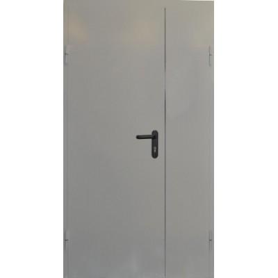 Двустворчатая противопожарная дверь