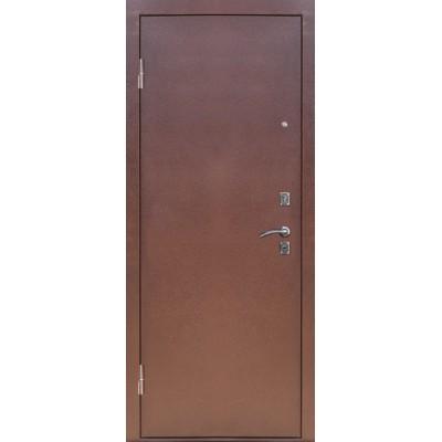 Дверь входная S-3/1 Медь, Серебро Сибирь ДЛЯ УЛИЦЫ