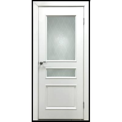Двери Нордика ДО  ПВХ покрытие