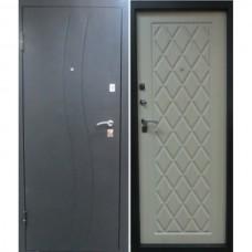Дверь Цитадель ВОДОЛЕЙ Беленый дуб  (Шелк) Венге  (Шелк) МК